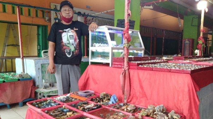 Sempat Booming, Kini Nasib Penjual Batu Akik di Jambi Tak Menentu, Sehari Hanya Rp 100 Ribu