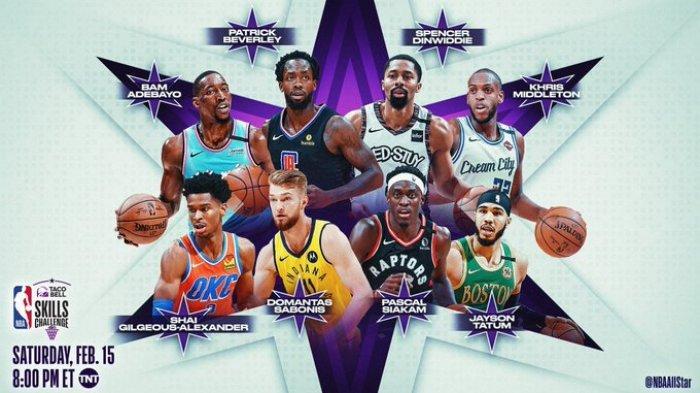 Jadwal NBA All-Star 2020 dan Daftar 20 Pemain di Perang Bintang Basket Amerika