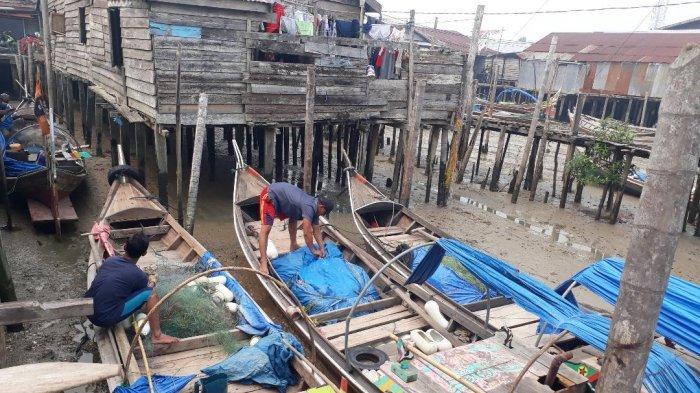 Saat Harga Jual Mulai Membaik, Nelayan Tanjabtim Dihadapkan Cuaca Ekstrem Ujung Tahun