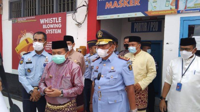 Gubernur Jambi dan Kakanwil Kemenkumham Tinjau Lapas Sarolangun