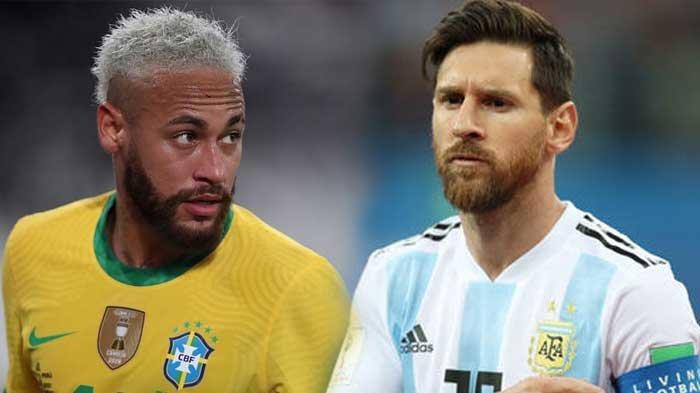 Link Live Streaming Final Copa America 2021 Brazil vs Argentina Lengkap Head to Head dan Prediksi
