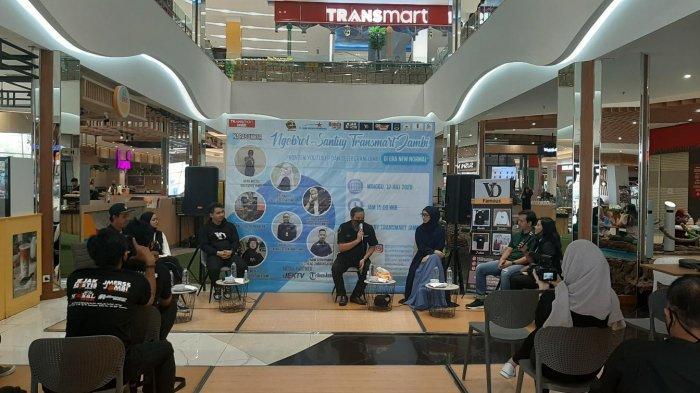 Ngobrol Santuy di Era New Normal, Transmart Jambi Hadirkan Youtuber dan Selebram