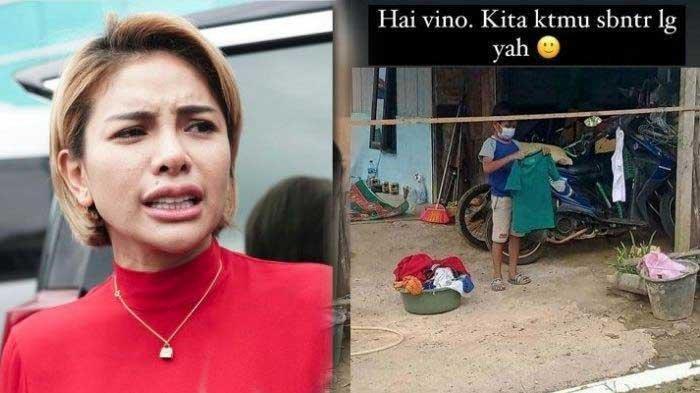 Vino Si Bocah Yatim Piatu yang Kedua Orangtuanya Meninggal Imbas Covid-19 Mau Ditemui Nikita Mirzani