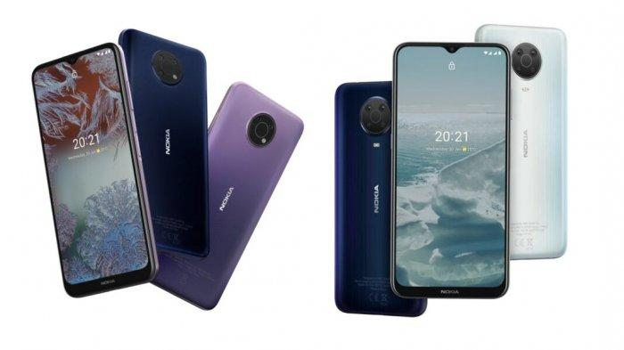 Spesifikasi Nokia G20 Lengkap dengan harga Jual, Kamera 48 Mp Layar 6,5 Inchi
