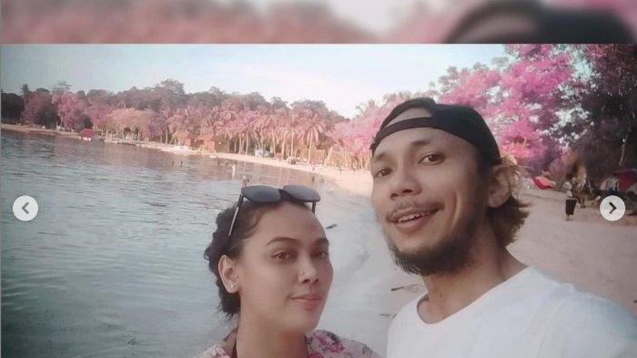 Norman Kamaru dan istri barunya. (Instagram Jhasmine)
