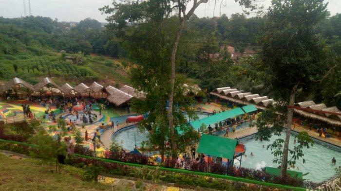 Kerumunan di Objek Wisata Sikumbang Waterpark Bangko, Polisi Lakukan Pembubaran Paksa