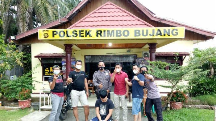 Oknum Anggota BPD Desa Sungai Rambay Tebo Ditangkap Polisi Atas Kasus Penipuan