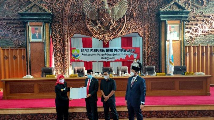 Pj Gubernur Hadir Sidang Paripurna DPRD Provinsi Jambi