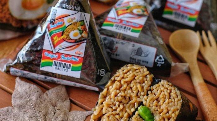 Onigiri Indomie, Inovasi Baru Selain Donat Bisa Jadi Santapan Saat Lebaran Loh