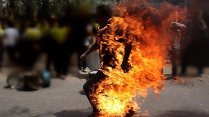 Begini Pesan Istri yang Dibakar Hidup-hidup Suaminya di Medan, 'Maafin Kakak ya Mak, Jangan Dendam'