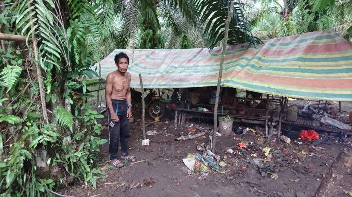 Orang Rimba di Kecamatan Pamenang, Kabupaten Merangin, Provinsi Jambi.
