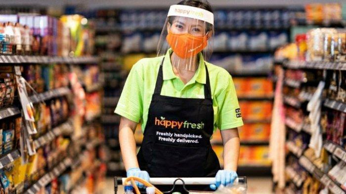 Kolaborasi dengan HappyFresh, OVO Dukung Pengguna Berbelanja dari Rumah Saja