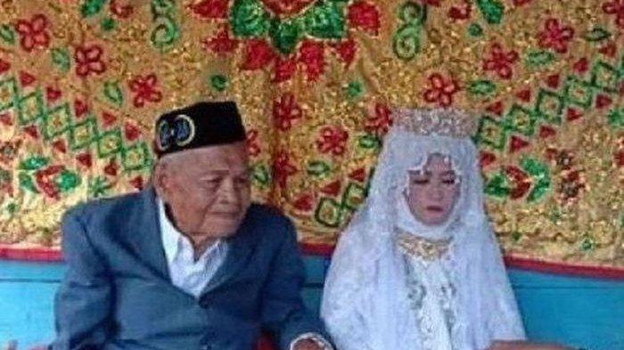 Kakek 103 Tahun Nikahi Gadis 30 Tahun, Ketika Ditanya Malu-Malu, Ternyata Mereka Dijodohkan