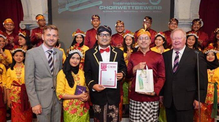 Singkirkan 9 Negara di Grand Prix Internationaler Chorwettbewerb 2019, PSM MB Juara di Austria