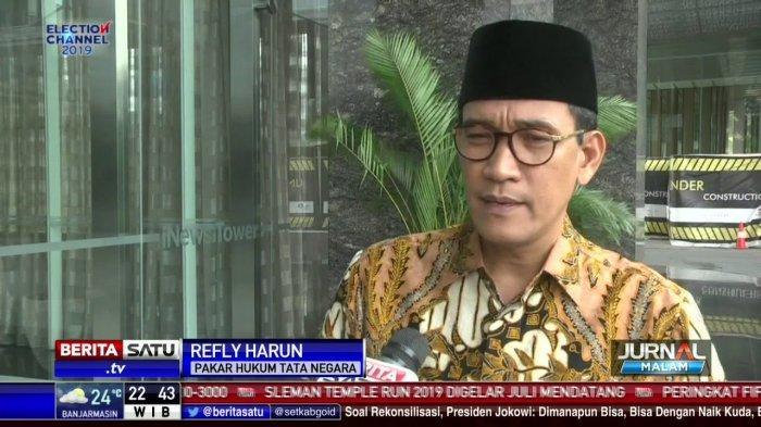 Menganggap Sidang MK Sudah Selesai, Refly Harun Sebut Satu Hal yang Bisa Menangkan Prabowo-Sandi