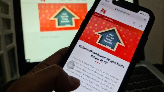 Dapatkan 10 GB Hanya dengan Rp10,Kenyamanan Akses Belajar Daring dari Telkomsel