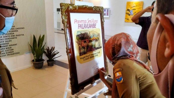 Pameran seni rupa PALAMJAMBE 2020 dengan tema