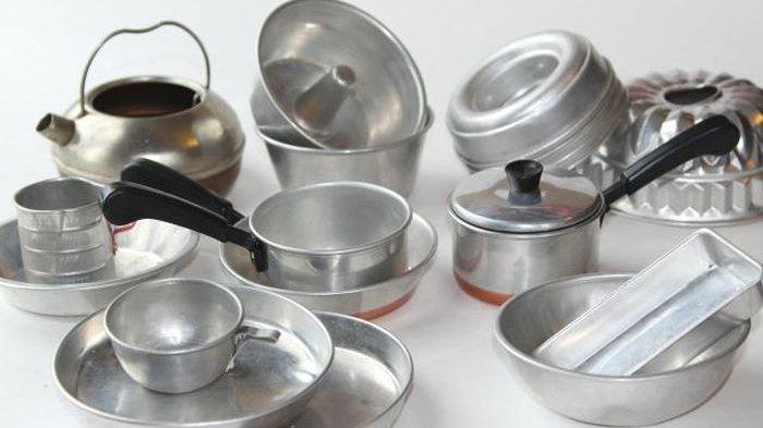 Awas Alumunium Sebabkan Penyakit Berat, Penggunaan Untuk Alat Masak Perlu Perhatikan Bahan Makanan