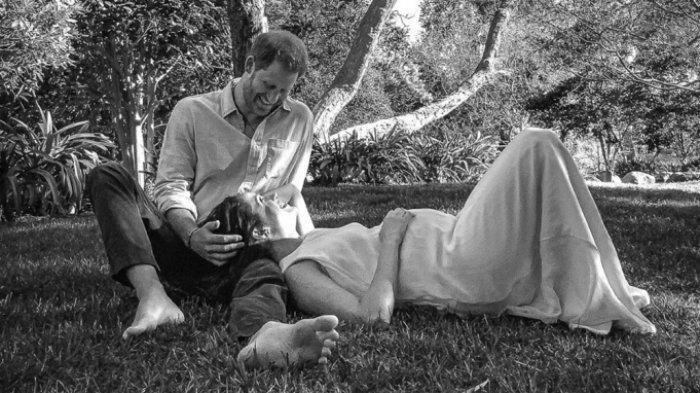 Meghan Markle dan Pangeran Harry Pamer Kehamilan Anak Kedua, Ratu Elizabeth II Bereaksi Ini