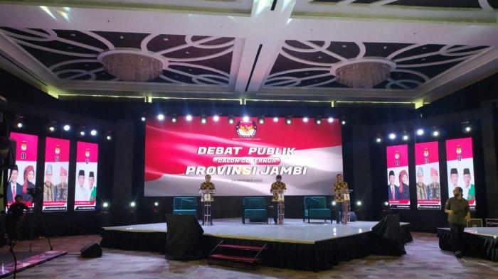 Sedang Berlangsung! Live Streaming Debat Calon Gubernur Jambi 2020