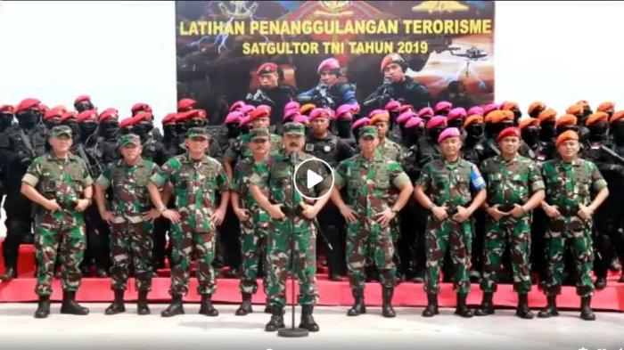 Peringatan Keras Panglima TNI pada Gerakan yang Menganggu NKRI, Siap-siap Digerus Pasukan Khusus TNI