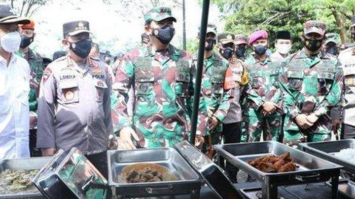 Panglima TNI Tolak Tawaran Makan Kala Sidak Dapur Satgas Covid-19 Korps Marinir, Ini Alasannya