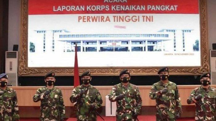 11 Perwira Tinggi TNI Naik Pangkat, Yang Terbanyak Dari TNI Angkatan Laut