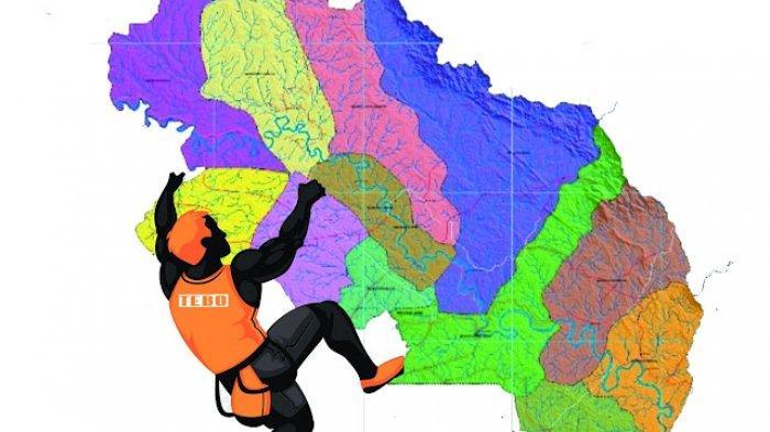 Persiapan Kejuaraan Panjat Tebing se Provinsi Jambi di Tebo Sudah 80 Persen