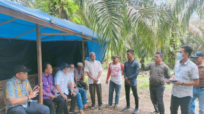 Pansus DPRD Provinsi Jambi Tinjau Lokasi Konflik Antara KTH Alam Rimbo Lestari dengan PT Agrindo