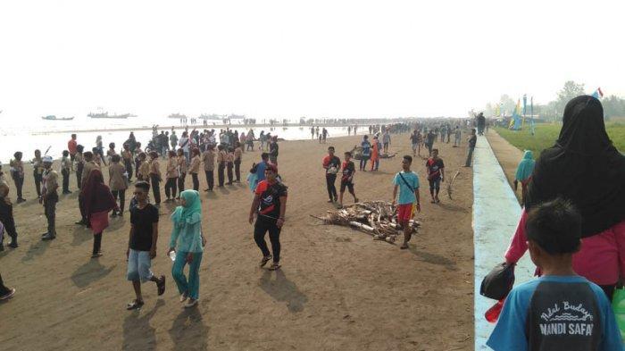 Pantai Babussalam Terancam Terjadi Abrasi, Camat Sadu: Butuh Penanganan Sejak Dini