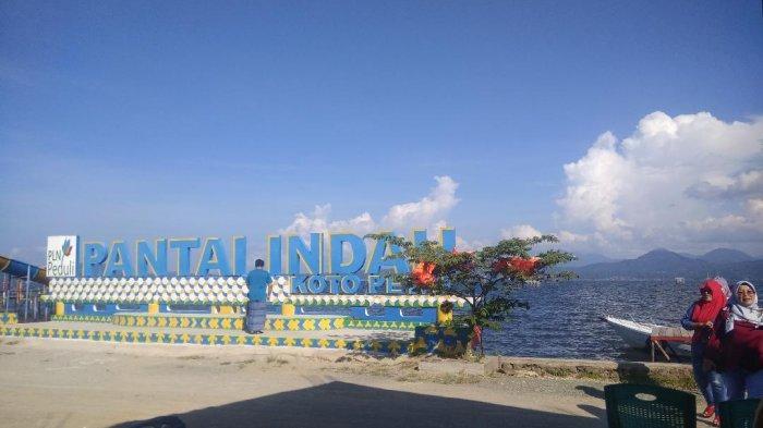 Menikmati Pantai Indah Koto Petai di Kabupaten Kerinci