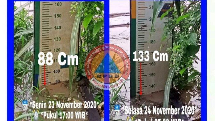 Debit Air Sungai Batanghari Capai 133 Cm, BPBD Batanghari Belum Terima Loparan Banjir