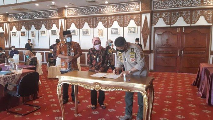 Kesepakatan Para Kepala Daerah di Jambi Untuk Benahi Kawasan Eks Arena MTQ di Kota Jambi