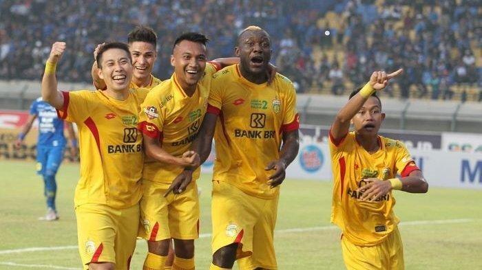 Para pemain Bhayangkara FC