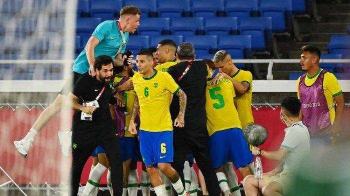 Hasil Brasil Vs Spanyol di Olimpiade Tokyo 2020, Tim Samba Menang 2-1 dan Bawa Medali Emas