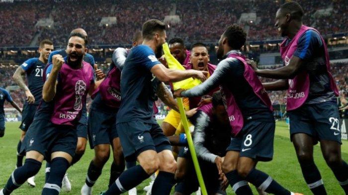 Meski di Bangku Cadangan, 2 Pemain Prancis Ini Tak Pernah Turun Lapangan Selama Piala Dunia 2018
