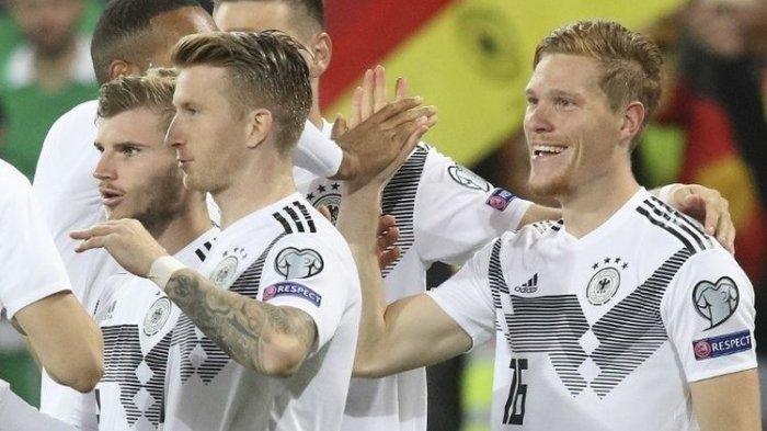 Hasil UEFA Nations League 2020 Tadi Malam Swiss vs Jerman, Jalannya Pertandingan hingga Skor Akhir