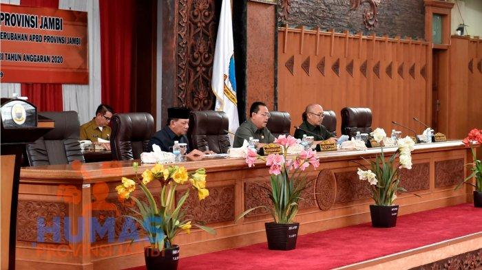 Paripurna DPRD Provinsi Jambi, Ini Pandangan Fraksi Soal Ranperda RAPBDP Provinsi Jambi Tahun 2019