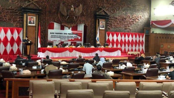 Dewan Bentuk Pansus Pembahasan RPJMD Provinsi Jambi 2021-2026