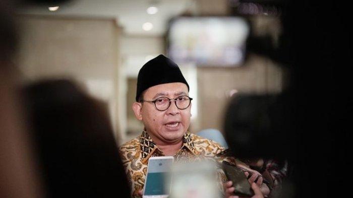 Wakil Ketua Umum Partai Gerindra Fadli Zon di Kompleks Parlemen, Senayan, Jakarta, Selasa (11/6/2019).