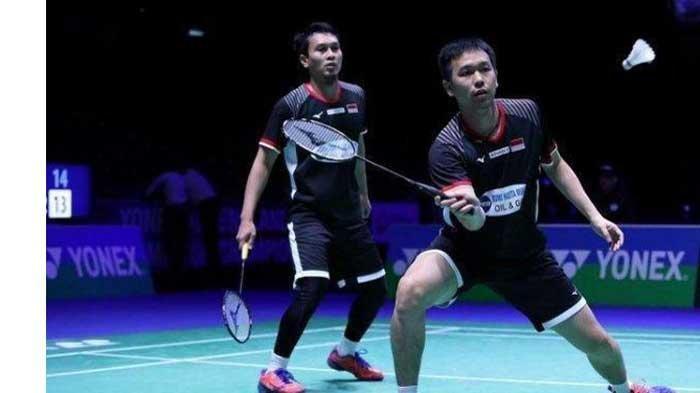 Hasil Drawing Olimpiade Tokyo 2020 untuk Badminton, Wakil Ganda Putra Ahsan/Hendra dan Markus/Kevin