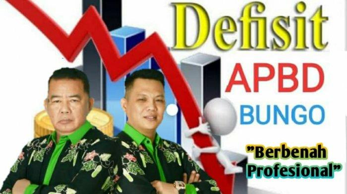 Kabupaten Bungo Defisit Anggaran, SZ-Erick: Kami Punya Formulanya