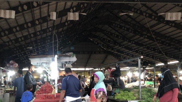 Akhir Pekan di Pasar Angso Duo Ramai Pengunjung dan Harga Pangan Relatif Stabil