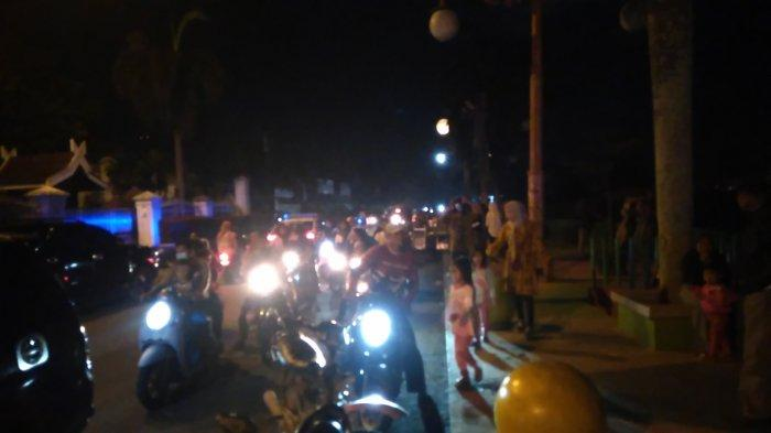 Malam Tahun Baru di Tengah Covid-19 di Pasar Atas Masih Terpantau Ramai