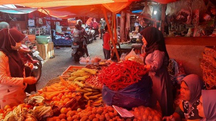 Harga Sembako di Pasar Rakyat di Bangko Naik Tajam, Hingga Rp 8.000 per Kilogram