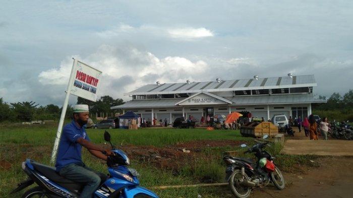 Beberapa Pekan Beroperasi, Pedagang Masih Keluhkan Kondisi Pasar Modern di Sabak Timur Sepi Pembeli