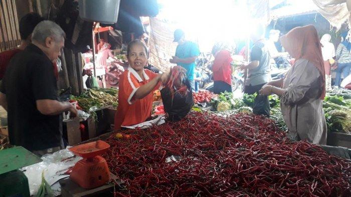 Daftar Harga Sembako di Pasar Jambi Hari Ini Selasa 5 Mei 2020, Harga Cabai Kembali Berubah