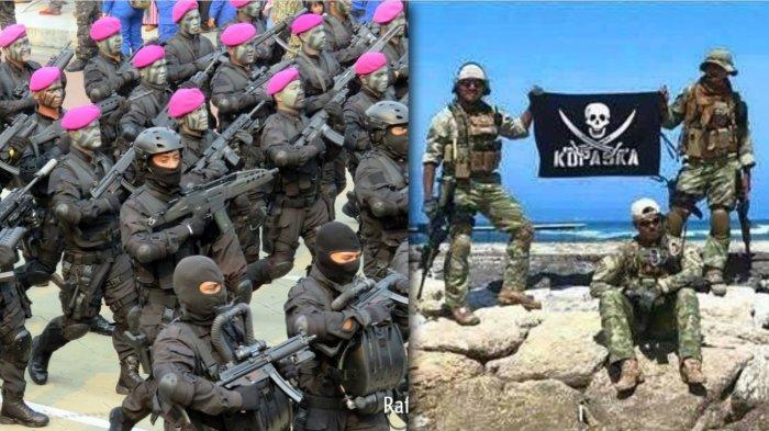 JADI Ketakutan Negara Asing, Inilah Deretan Pasukan Khusus TNI dari 3 Matra, Ada yang Berbaret Ungu