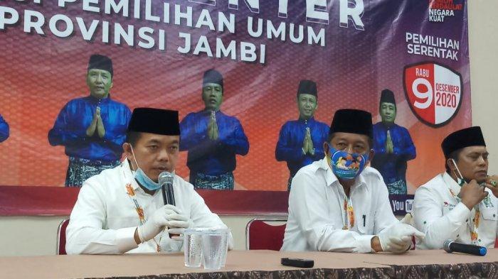 Bakal paslon Gubernur dan Wakil Gubernur Jambi, Al Haris-Abdullah Sani
