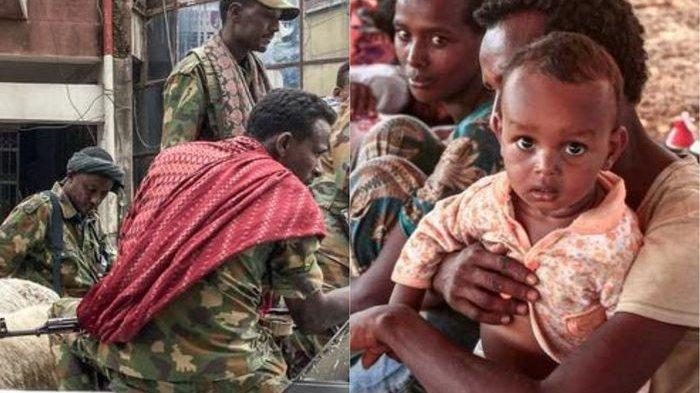 Genosida di Ethiopia Terbongkar, Anak-anak Diikat Ibunya Lalu Dibunuh Tentara, di Gereja Penuh Mayat